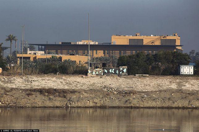 Irak. Ambasada USA w Bagdadzie w tzw. Zielonej Strefie