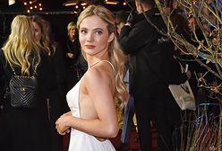 """""""Wiedźmin"""": Freya Allan na premierze w Wielkiej Brytanii"""