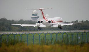 Wyremontowanego tupolewa pilotowali Rosjanie