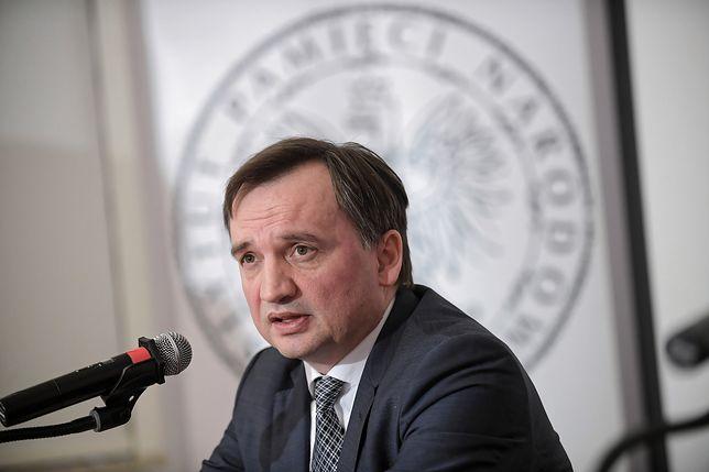 Zbigniew Ziobro poinformował o przygotowaniu przez IPN siedmiu wniosków o uchylenie immunitetów sędziom i prokuratorom
