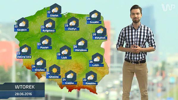 Prognoza pogody na 28 czerwca (plus dwa kolejne dni)