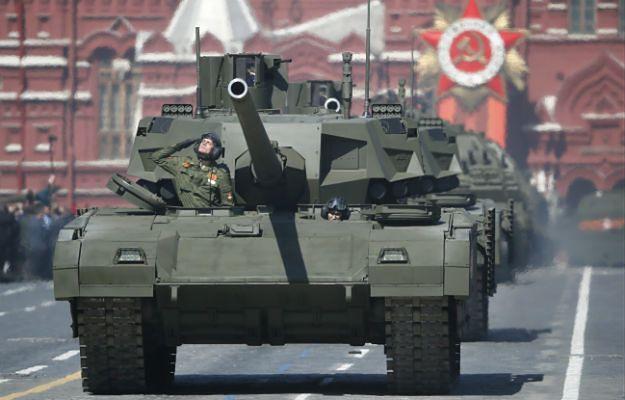 "Rosyjski czołg ""Armata"""