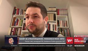 """Patryk Jaki broni premiera. """"Chodzi o suwerenność"""""""