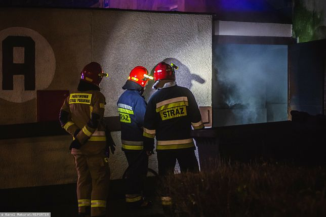 Pożar w Jełowej koło Opola