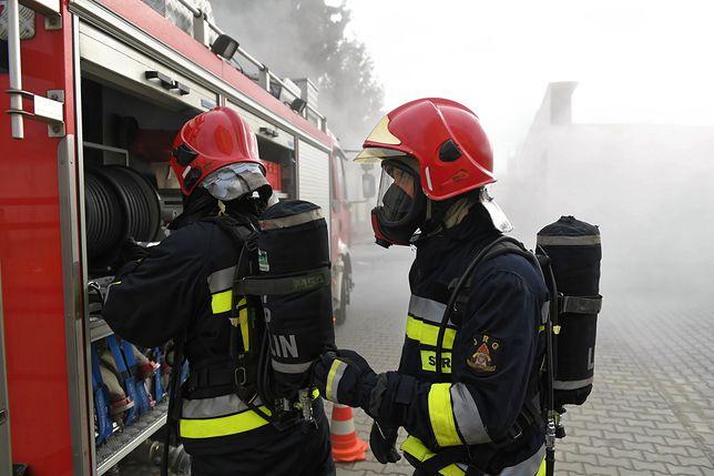 Strażacy znaleźli zwłoki