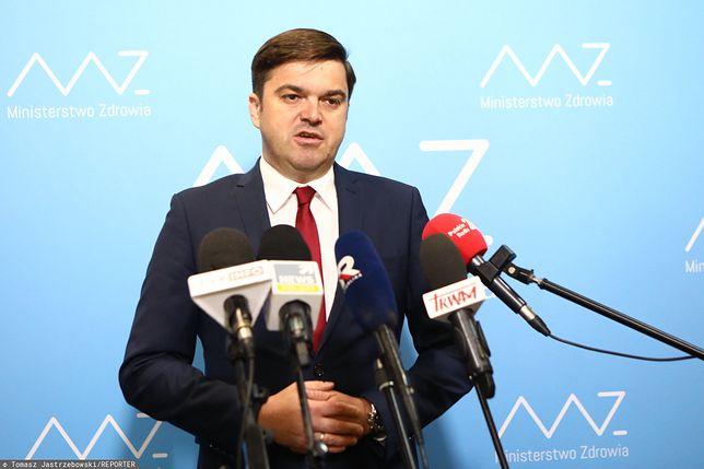 Koronawirus w Polsce. Rzecznik Ministerstwa Zdrowia Wojciech Andrusiewicz