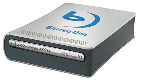 Przystawka w postaci napędu Blu-Ray do Xboxa 360 potwierdzona