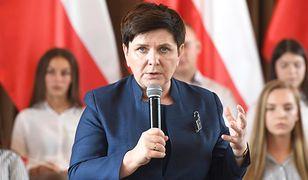 """Beata Szydło stwierdziła, że niektórzy jej koledzy z PiS chcą """"zaistnieć"""""""