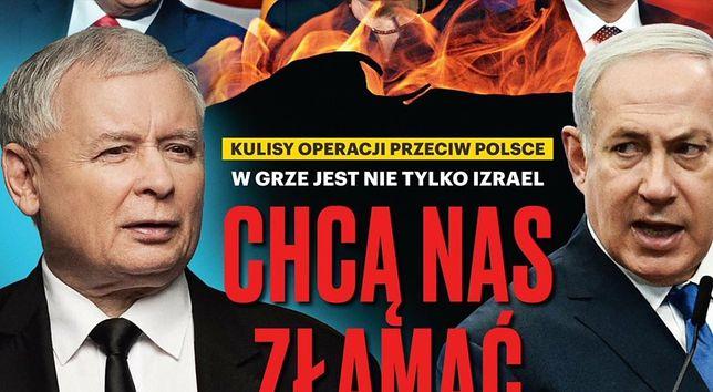 """Najnowsza okładka tygodnika """"Sieci"""""""
