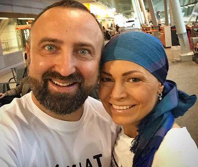 "Robert Szulc, podróżnik, autor bloga ""Świat na raty - moja podróż dookoła świata"" oraz Joanna Górska, dziennikarka Polsatu."