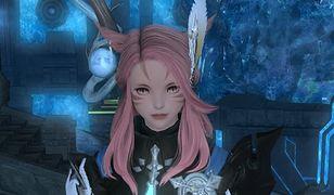 Żeński avatar z Final Fantasy XIV.
