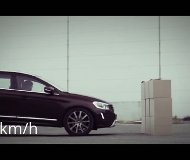 Volvo XC60 - test systemu City Safety