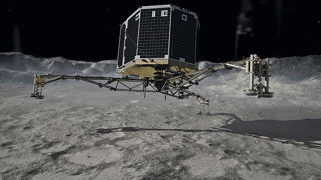 Lądownik Philae wznawia pracę