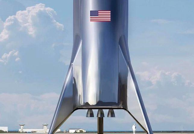 Elon Musk coraz bliżej podróży na Marsa. Zobacz wideo ze startu rakiety SpaceX Starhopper