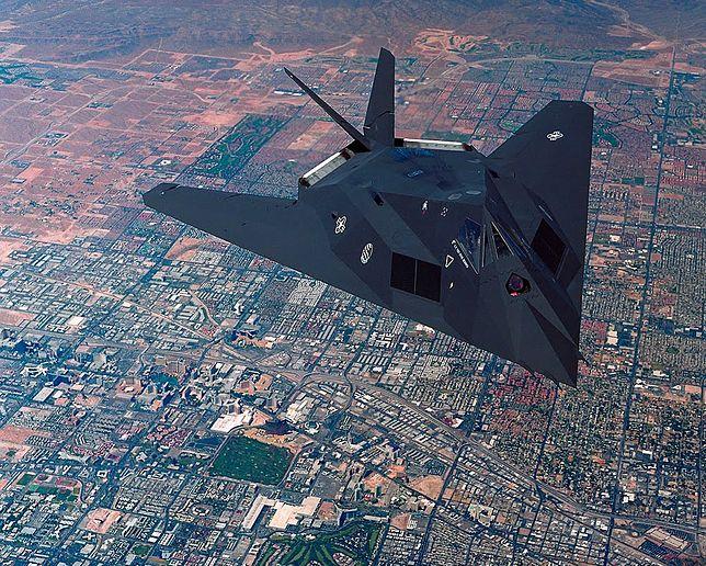 Legendarny F-117 powstał dzięki Rosjanom. Nie wiedzieli, że ujawnili Amerykanom supertajne dane
