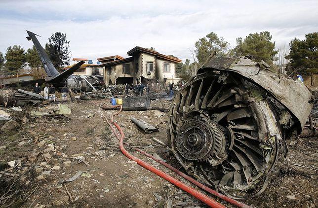 Iran: Samolot rozbił się na lotnisku koło Teheranu