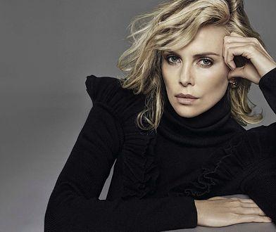 """Charlize Theron w sesji dla włoskiej edycji """"Vanity Fair"""""""