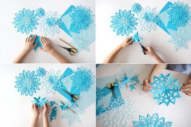 Ozdoby na Boże Narodzenie z papieru idealnie nadają się do naklejenia na okno