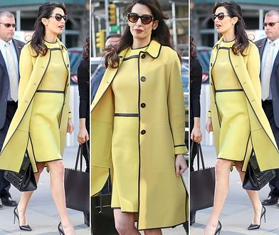 LOOK OF THE DAY: Amal Clooney jak Jackie Kennedy