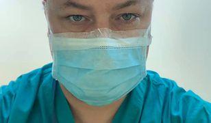 Lekarz Michał Buczyński mówi o działaniu maseczek ochronnych