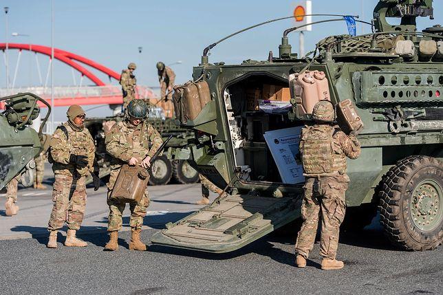 Wojsko USA przebywa w Skwierzynie od lutego 2017 r.