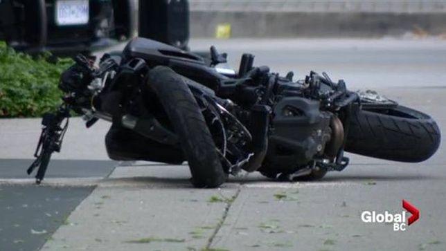 Zdjęcie z miejsca tragicznego wypadku