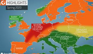 Pogoda. Amerykańscy meteorolodzy zapowiadają ciepłą i burzową wiosnę.