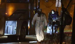 Do szpitala we Wrocławiu przetransportowano Polaków ewakuowanych z Wuhan