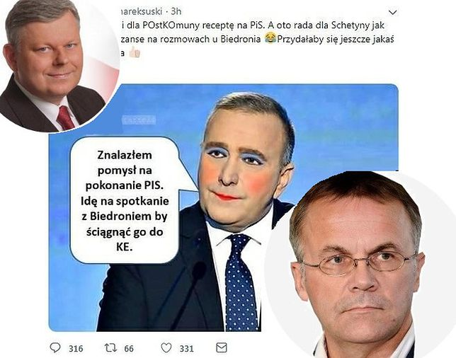 """Jarosław Sellin stwierdził, że """"nie ma co komentować"""" wpisu Marka Suskiego"""