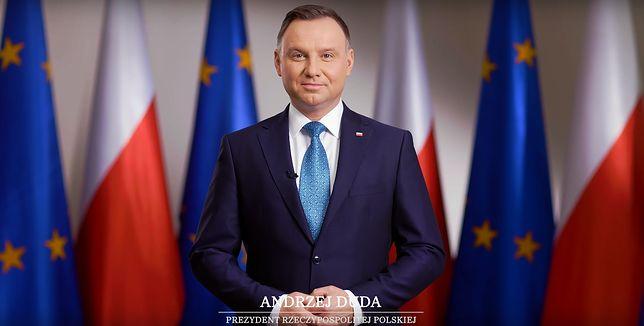 15 lat w Unii Europejskiej. Prezydent Andrzej Duda wygłosił orędzie do narodu