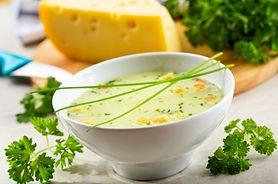 Zagęszczona zupa serowa (do kupienia gotowa do spożycia)