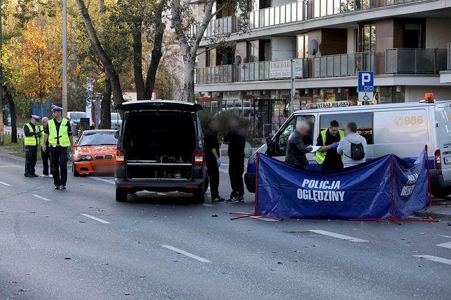 Warszawa. Do wypadku na ul. Sokratesa doszło w październiku, zginął 33-latek potrącony przez bmw