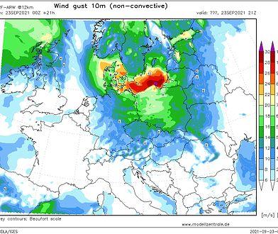 Pogoda. Potężna wichura nadciąga nad Polskę