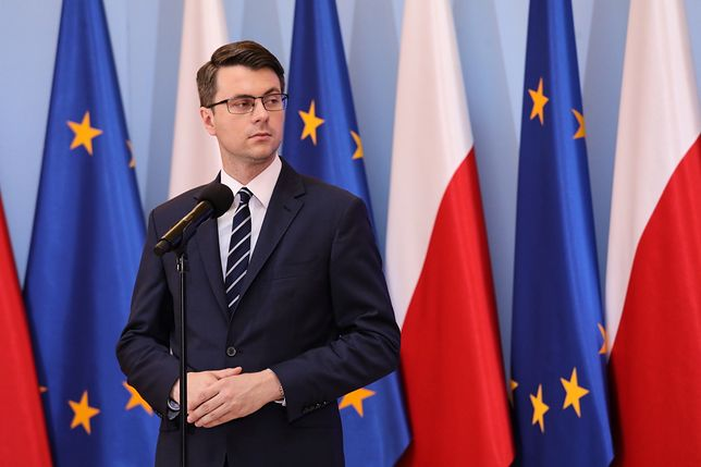 Piotr Müller skomentował niepochlebną dla rządu wypowiedź Olgi Tokarczuk