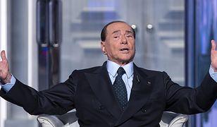 """Silvio Berlusconi zapowiadał, że chce """"kandydować jako człowiek prawy"""""""