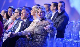 """Rozenek w białej """"kopercie"""", a Rusin w kropkach. Gwiazdy na ramówce TVN"""