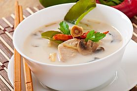Zagęszczona zupa krem z kurczaka (do kupienia gotowa do spożycia)