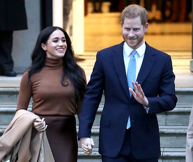 Meghan Markle i książę Harry żegnają się z monarchią. Sporo na tym zarobią
