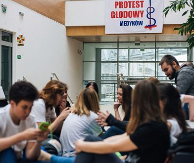 Protest głodowy rezydentów i lekarzy w Gdańsku