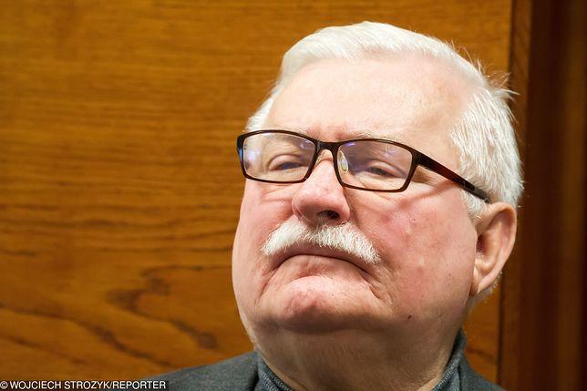 """Były prezydent Lech Wałęsa krytykuje obecne kierownictwo """"Solidarności"""" za podejście do strajku"""