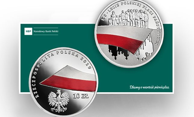 Powstało 13 tys. egzemplarzy srebrnej monety o nominale 10 zł
