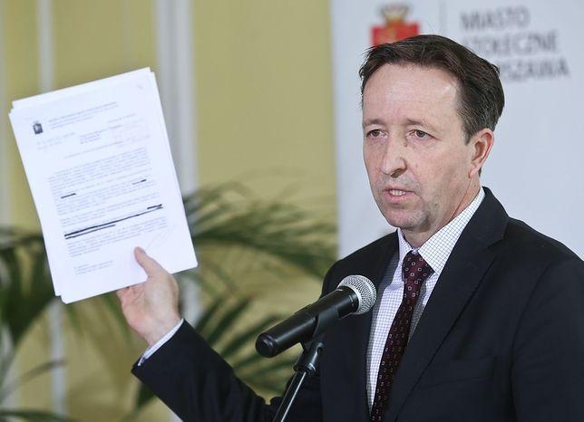 """Witold Pahl: """"Mogło dojść do fałszerstwa dokumentów i próby wyłudzenia majątku kosztem miasta"""""""
