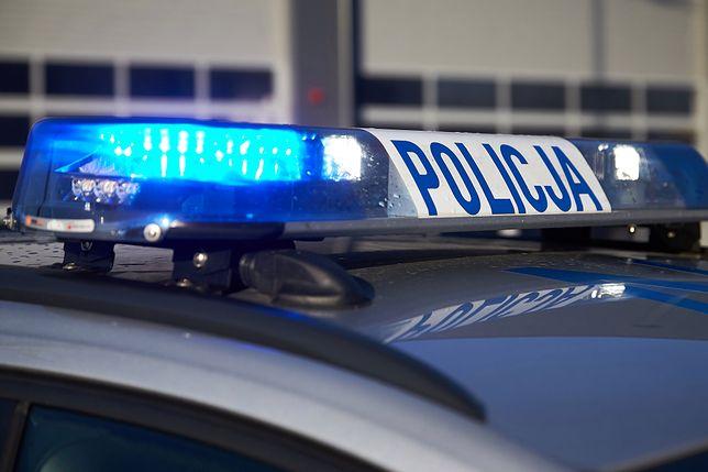 Policja otrzymała zgłoszenie po godz. 14.30