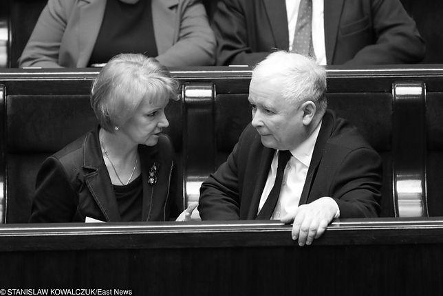 """Jolanta Szczypińska nie żyje. """"Przyjaźniła się z prezesem, walczyła z nowotworem"""""""