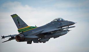Amerykański pułkownik przypłacił wycieczkę F-16 zwolnieniem ze służby
