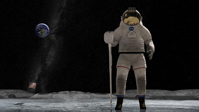 NASA pokazała nowy model kosmicznego skafandra