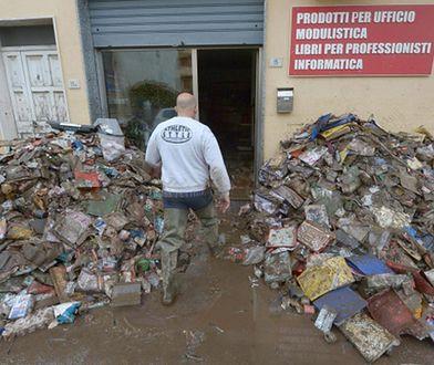 Włochy: cyklon Kleopatra przyniósł falę niepogody niemal w całym kraju