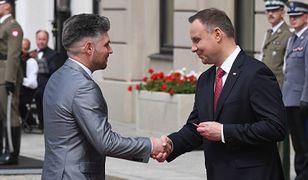 Damian Wawrzyniak został odznaczony przez prezydenta Dudę za propagowanie polskich tradycji kulinarnych.