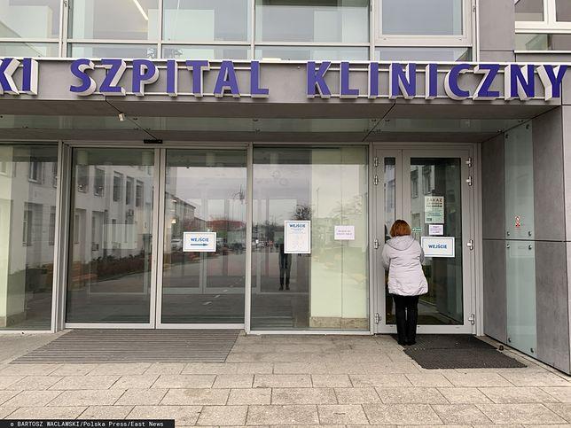 Pacjent z podejrzeniem koronawirusa opuścił szpital. Udało się go zatrzymać