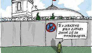 Sejm jak oblężone miasto. Ochojska wspomina wojnę na Bałkanach